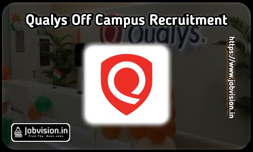 Qualys Off Campus Drive 2021