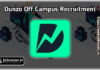Dunzo Recruitment