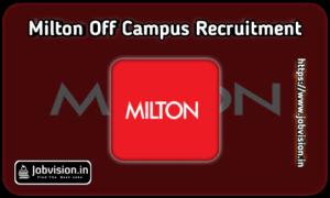 Milton Recruitment