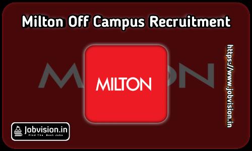 Milton Recruitment 2021