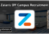 Zalaris Off Campus Hiring