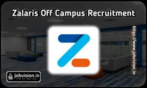 Zalaris Off Campus Hiring