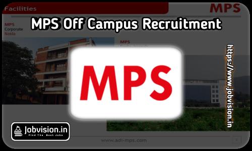 MPS Ltd Recruitment 2021