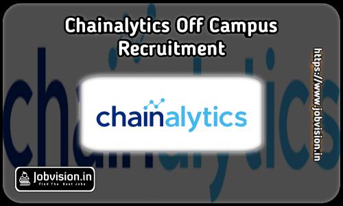Chainalytics Off Campus Drive 2021