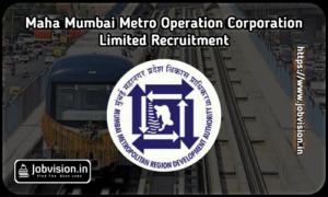 MMRDA Maha Mumbai Metro Recruitment