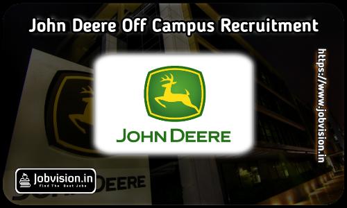 John Deere Off Campus Drive 2021
