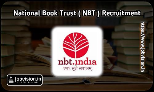 NBT Recruitment 2021