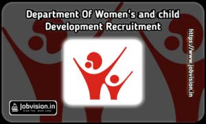 Department of Women and Child Development