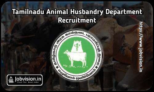 Animal Husbandry Recruitment 2021