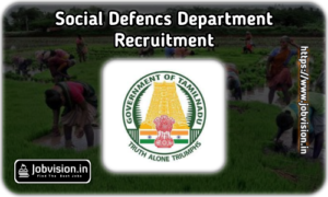 Social Defence Dept Recruitment