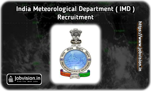 IMD Recruitment 2021