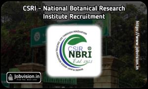CSIR-National Botanical Research Institute - NBRI