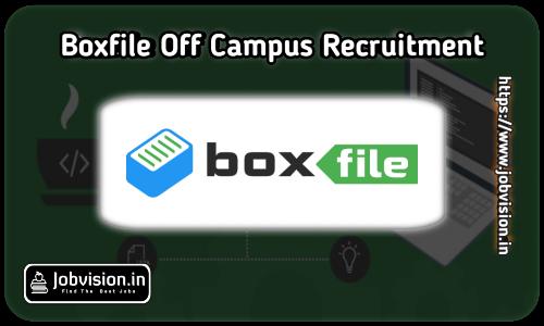 Boxfile Web Services Off Campus Drive 2021