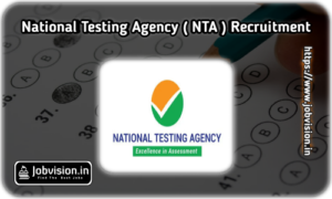 NTA Recruitment