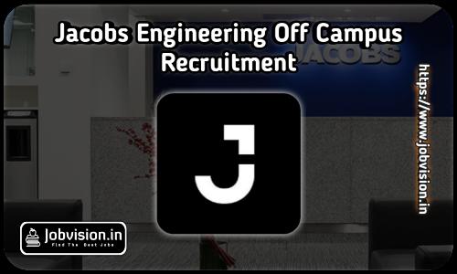 Jacobs Engineering Recruitment 2021