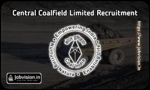 Central Coalfields Limited CCL Recruitment
