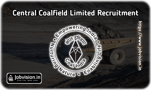 Central Coalfields Recruitment 2021