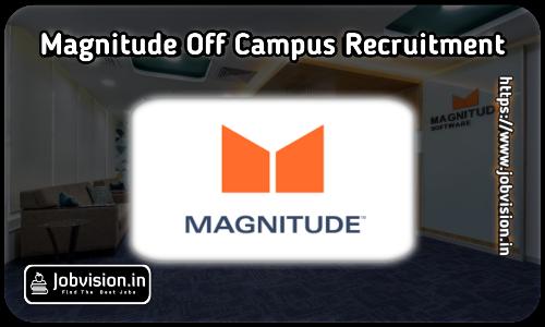 Magnitude Software Hiring 2021