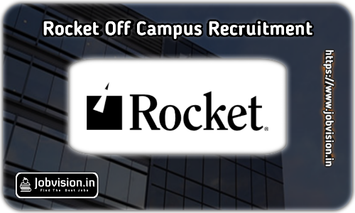 Rocket Software Off Campus Drive 2021