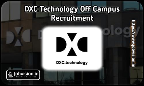 DXC Technology Recruitment 2021
