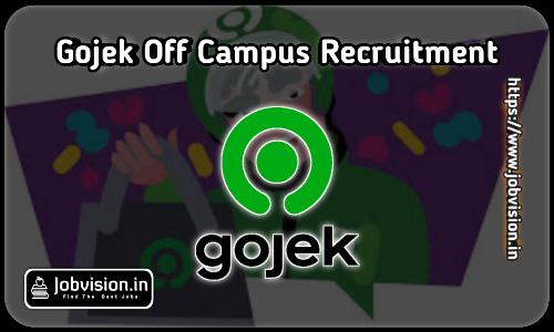 Gojek Off Campus Drive 2021