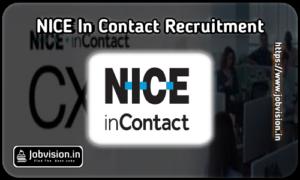 NICE inContact Freshers Recruitment