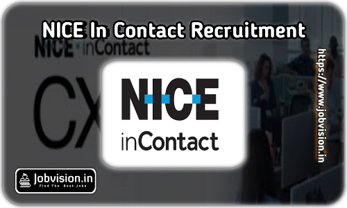 NICE inContact Freshers Recruitment 2021