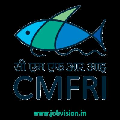 CMFRI Recruitment 2021