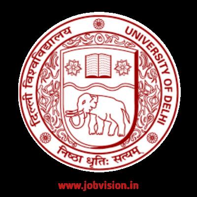 Delhi University Non-Teaching Recruitment 2021