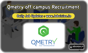 QMetry Off Campus Drive 2021