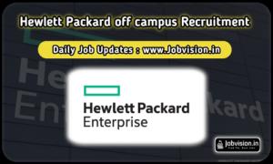 Hewlett Packard Enterprise Off Campus