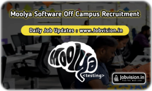 Moolya Software Off Campus Drive
