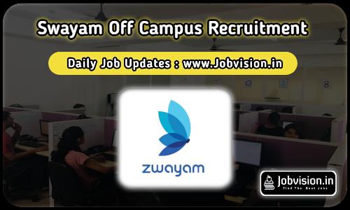 Zwayam Off Campus Drive 2021