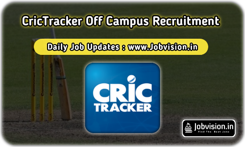 CricTracker Off Campus Drive 2021