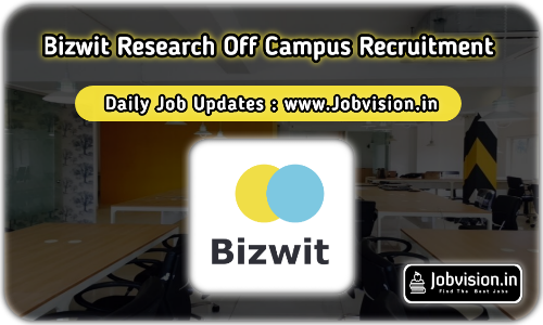 Bizwit Research Off Campus Drive 2021