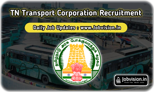 TNSTC Apprentice Recruitment 2021