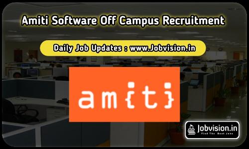 Amiti Software Recruitment 2021