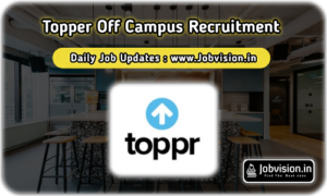 Toppr Off Campus Drive