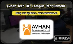 Avhan Tech Off Campus Drive