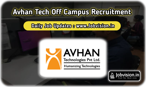Avhan Tech Off Campus Drive 2021