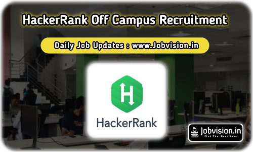 HackerRank Off Campus Drive 2021