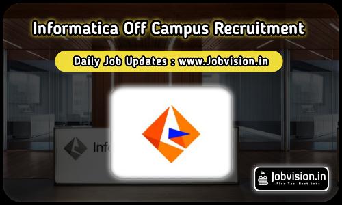 Informatica Recruitment 2021