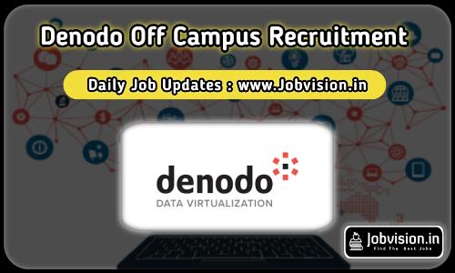Denodo Technologies Off Campus Drive 2021