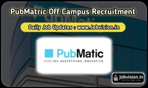 Pubmatic Off Campus Drive
