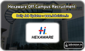 Hexaware Off Campus Drive