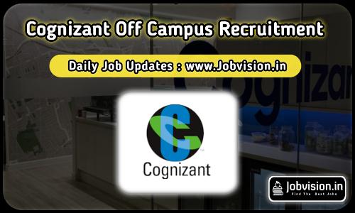 Cognizant Off Campus Drive 2021