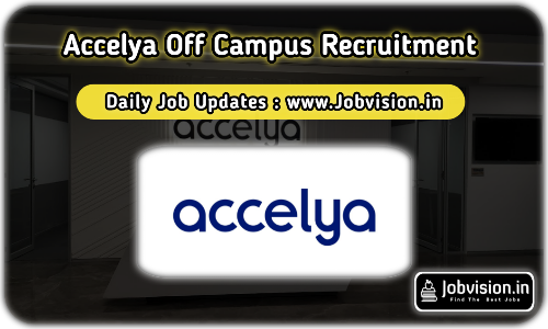 Accelya Off Campus Drive 2021