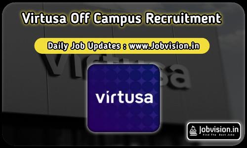Virtusa Off Campus Drive 2021