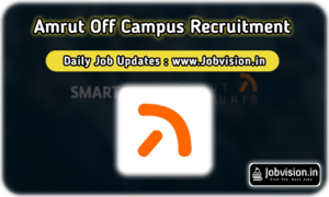 Amrut Software Off Campus Drive