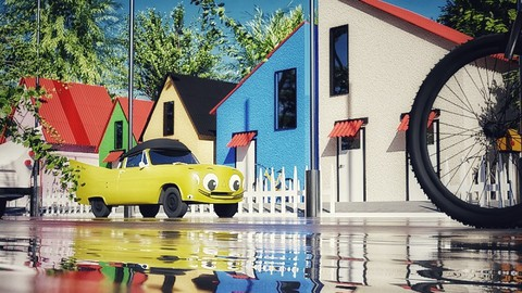 Exterior Visualization with Blender 2.9-From Beginner to Pro | Enroll for free | Udemy